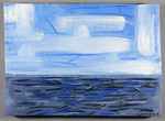Sea + Sky (After Mondrian)