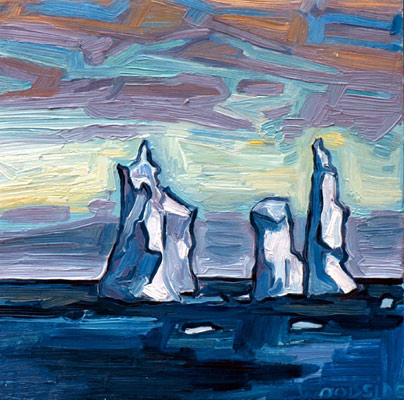 Pinnacle Icebergs -